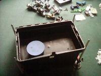 Seat box, reels, floats, hooks, bait boxes, etc etc. Loads of stuff