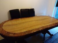 Free Large Marble Dining Table, Collection Only