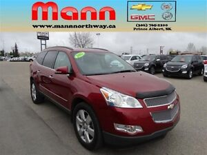 2012 Chevrolet Traverse LTZ -PST paid, Remote start, Leather.