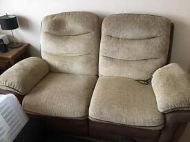 3 Piece Suite & Footstool PRICE REDUCED