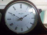 Mantel Clock - Napoleon style-Battery operated.