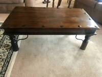 Coffee table.PRICE DROP Solid oak. Superb condition. 150 ONO