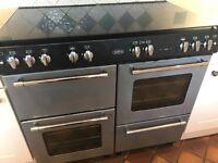 Belling Range gas cooker - grey