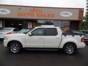 2010 Ford Explorer Sport Trac Limited 4.6L, LEATHER, SUNROOF