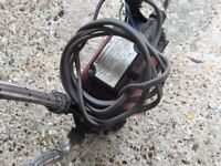 Grunfos pump with connections. Has been used before.
