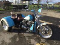 Custom made Harley-Davidson trike