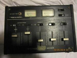 realistic stereo mixer Kawartha Lakes Peterborough Area image 1