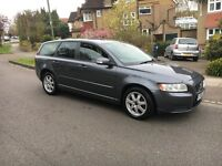 VOLVO V50 -T-5 -ESTATE-2008 model -HPI CLEAR