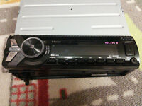 Sony MEX-N5000BT Bluetooth car stereo system with Front USB/AUX input