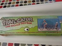 Trailgator - attaches your childs bike to yours
