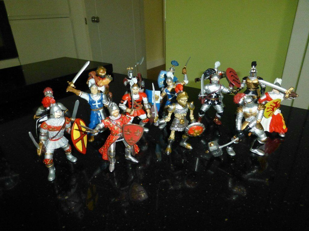 toy figures knights