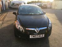 Vauxall corsa 1.2 SXI Black mot until 8/11/18 full service history recently been serviced