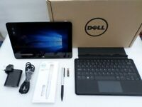 Laptop tablet Windows 10 PC Computer DELL VENUE 11 PRO 5130 with Dell Keyboard and Pen