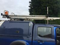Easy load ladder roof rack