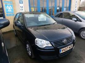 VW Polo 1.4 Automatic 50k miles Black
