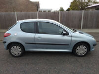Peugeot 206 1.1 Low Mileage Cheap Running Costs
