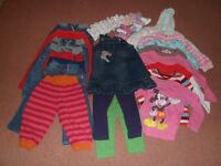 Bundle of Girl's Clothes - 12 - 24 months.