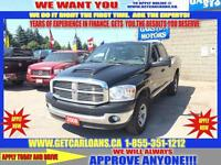 2008 Dodge Ram 1500 Quad Cab 4WD*SUNROOF*LEATHER*HEATED SEATS/