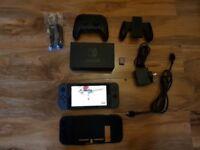 Nintendo Switch Mega Bundle. Mario Odyssey, Mario Kart & Official Pro Controller.