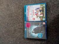2 blu-ray 2 normal dvd
