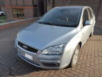2007 Mk2 Ford Focus 1.6 Ghia 5dr Hatchback - great condition