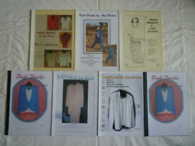 6 Knitting Machine Pattern Books in the POSH FROCKS Series - all Standard Gauge - Price per Book