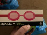 Speedo swimming googles, Junior size, various colours, new in box