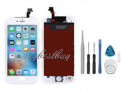 """For iPhone 6 4.7"""" Touch Screen LCD Display Assembly Digitizer Replacement White"""