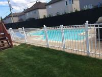 Clôtures de piscine