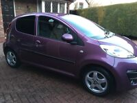 Peugeot 107 Allure for sale, low mileage, immaculate condition