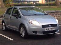 2007 (Apr 07) FIAT GRANDE PUNTO 1.2 ACTIVE - 5 Door Hatchback - Petrol - Manual - SILVER *FULL MOT*