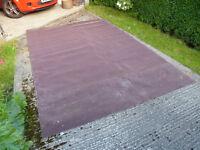 Free Foam Backed Carpet. Unused