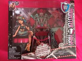 Monster High Doll Playset - frights, camera, action