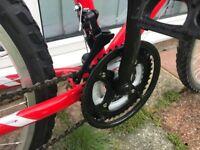 """Apollo Slant Men's Mountain Bike, Red, 20"""" Frame"""