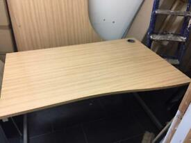 Used office desk in oak 20 available