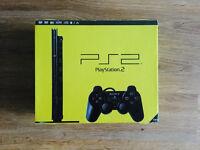 Sony PlayStation 2   Slim :: Perfect Condition :: Original Box + 5 Games & Accessories