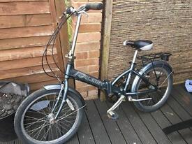 Foldiing bicycle