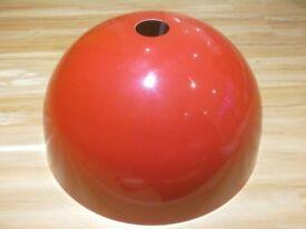 Ikea lampshade red gloss retro look