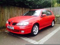 NISSAN ALMERA CHEAP CAR LOW MILAGE £475