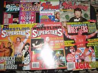 WRESTLING MAGAZINES X 7 FROM 1994 have other wrestling magazines for sale