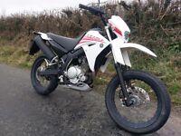 2009 Yamaha XT125X, super-moto, CBT friendly, long MOT.