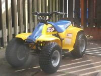 SUZUKI LT50 QUAD 2001 IN EXCELLENT CONDITION