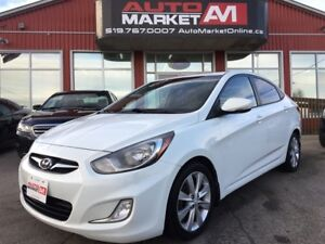 2012 Hyundai Accent GLS, Alloys, Sunroof, WE APPROVE ALL CREDIT