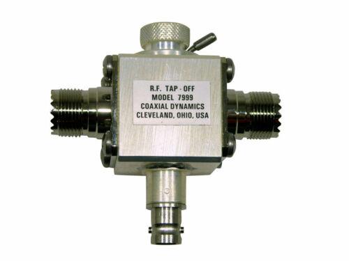 Variable RF Sampler 1.5-35 MHz 5KW UHF-UHF CDI 7999-2 (Replaces Bird 4273-020)
