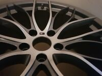 BMW Genuine Alloys x 4 20inch,4 series 405 double Spoke m performance