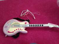 ELC Pink Toy Electric Guitar