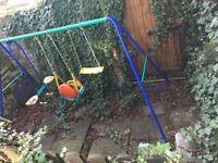 Free kids swing Charlton (Near Charlton Village, SE7 8UA). Collection only.