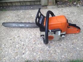 Stihl ms230 chainsaw