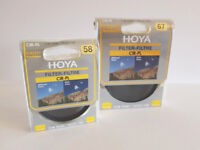 Hoya CIR – PL Polarizing filters Slim 67mm and Slim 58mm