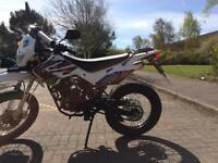 125cc road legal dirt bike